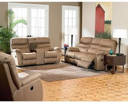Double Reclining Sofa by Lane Garrett Double Reclining Console Loveseat Lane Furniture