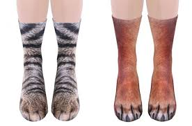 Super Socks Super Realistic Animal Socks Let You Look Like A Dog Or Cat From