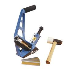 home hardware ergonomic hardwood floor nailer with mallet