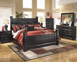 king poster bedroom sets king size bed offers inexpensive bedroom bedroom furniture ashley shay b271 king size poster bedroom set 6pcs in almost black
