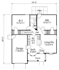 cottage style house plan 2 beds 1 baths 888 sq ft plan 57 314