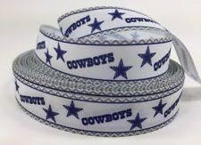 dallas cowboy ribbon dallas cowboys ribbon ebay
