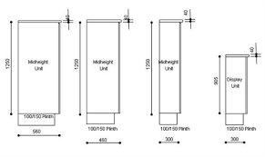 kitchen cabinet carcase specification
