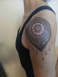 henna tattoo decorative tattoo shoulder tattoo