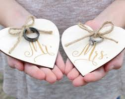 wedding ring holder mrs ring holder etsy