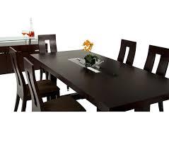 Dining Room Table Oak Dreamfurniture Com Thor Modern Wenge Red Oak Veneer Dining Table