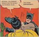 BATMAN, I'M...