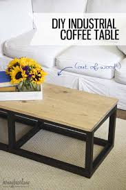 coffee table astounding diy industrial coffee table design ideas