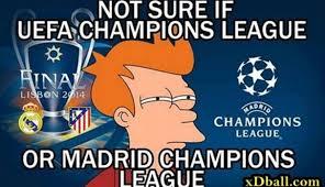 Chions League Memes - chions league memes calientan la previa real madrid atlético