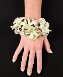 prom corsage prices white wristlet prom corsage in newark oh edward price