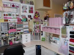 crafty storage heather u0027s craft room