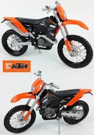 motocross toy bikes ktm exc 450 u2013 1 18 diecast toy model motocross bike matt