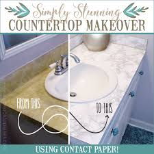 contact paper how to do a sturdy stunning granite contact paper countertop