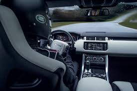 range rover sport interior pebble beach debut for new range rover sport svr