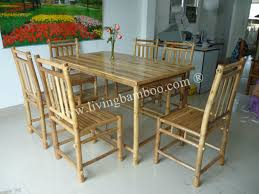 bamboo dining room table marvellous bamboo dining table and chairs 45 for dining room table