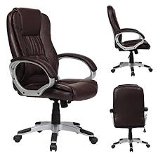 Amazon Com Yamasoro Leather Executive Office Chair High Back