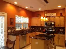 Burnt Orange Kitchen Curtains Decorating Kitchen Burnt Orange Color Country Kitchens Kitchen Walls Towel