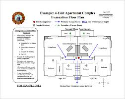 Floor Plan Templates Evacuation Plan Templates Fire Evacuation Plan For Home Emergency