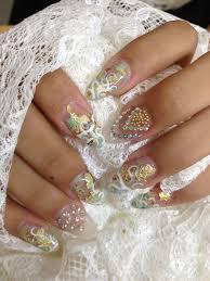 226 best wedding nails images on pinterest wedding nails nails