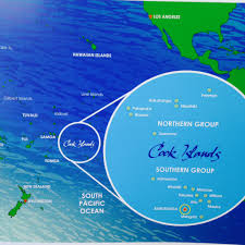 where is cook islands located on the world map where in the world are the cook islands