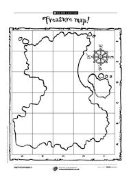 pirate treasure map worksheet preschool worksheets pinterest