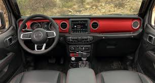 new jeep wrangler interior a detailed look at the 2018 jeep wrangler u0027s dashboard news