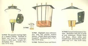 retro outdoor light fixtures vintage virden lighting 52 page catalog from 1959 retro renovation