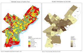 Map Of Philadelphia Zip Codes by Maps Help Philly Find Healthy Food Office Of Open Data And
