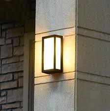 Outdoor Wall Light Fixture Creative Outdoor Wall Ls Waterproof Outdoor Courtyard Balcony