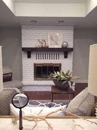 best 25 painted brick fireplaces ideas on pinterest paint