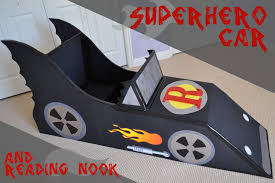 super hero car reading nook tutorial reading nooks superhero