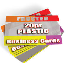 frosted plastic business cards printed cheap 1000 145 free shipping