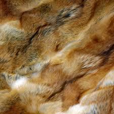 Bison Hide Rug Glacier Wear Red Coyote Fur Blanket For Sale