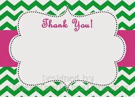 thank you cards printable slim image