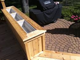 making deck planter box designs ideas also with planters trends