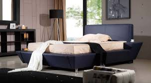 leather modern queen bed the holland protagonist of the room