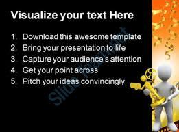 movie award winner success powerpoint templates and powerpoint
