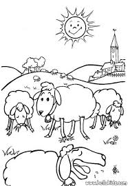 sheep coloring pages kids coloring