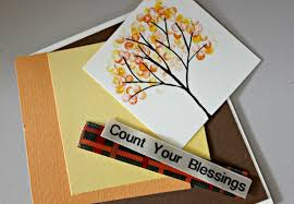 thanksgiving cards to make sting ideas