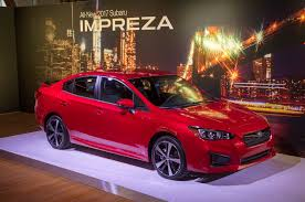 subaru legacy 2016 red 5 cool facts about the 2017 subaru impreza automobile magazine