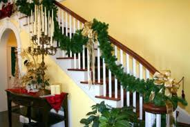 Christmas Decorations Banister 100 Awesome Christmas Stairs Decoration Ideas Digsdigs