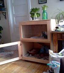 Homemade Rabbit Cage How To Care For Animals