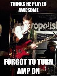 Bass Player Meme - depressed bass player memes quickmeme