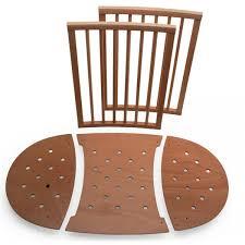 Mini Travel Crib by Stokke Sleepi Mini To Crib Bed Extensions Walnut Clearance