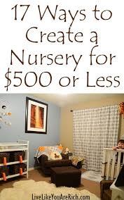 Cheap Ways To Decorate A Living Room by Best 25 Cheap Nursery Ideas Ideas On Pinterest Diy Monogram