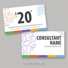 gift card business gift certificate 3 x 5 sided card itw visions rodan and