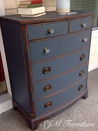 Chalk Paint On Metal Filing Cabinet Beautiful Antique Dresser Painted In Steel Gray Chalk Paint