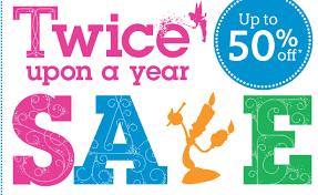 disney store semi annual sale items start at 1 99