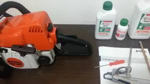 motosserra stihl ms 180 youtube
