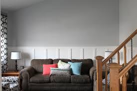 Light Gray Paint Color For Living Room Valspar Gravity A Light Gray Paint Colour With Cool Purple